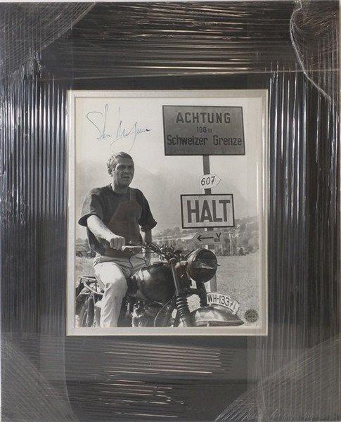 Steve McQueen - Authentic Signed Photo
