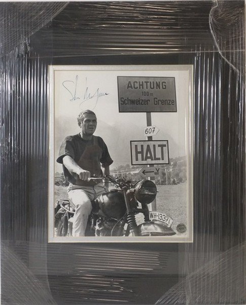 Steve McQueen - Authentic Signed Photo