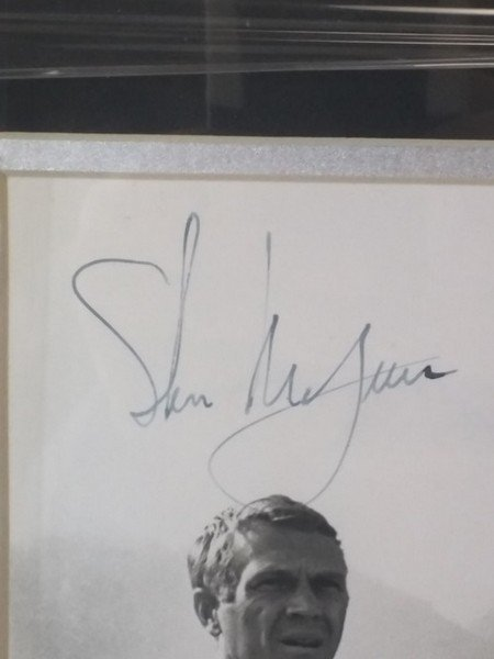 Steve McQueen - Authentic Signed Photo - 2
