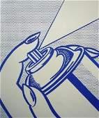 Original Roy Lichtenstein Lithograph One Cent Life