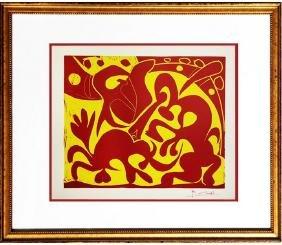 Pique (Rouge et Juane) - Pablo Picasso