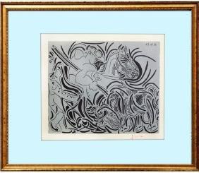 Pique (17)  Linocut - Pablo Picasso