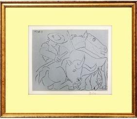 La Pique Cassee (18) - Pablo Picasso