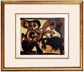 Pique - Pablo Picasso - Linocut