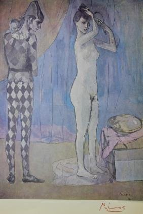 Harlequin's Family 1905' - Pablo Picasso