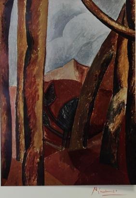 Landscape, 1908' - Pablo Picasso