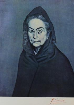 La Celstine, 1904' - Pablo Picasso
