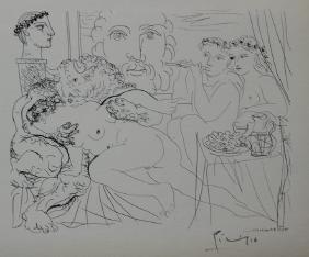 Minotaure Caressant Une Femme - Picasso