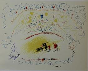 Les Arenes - Pablo Picasso