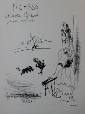 Femme Au Balcon - Pablo Picasso
