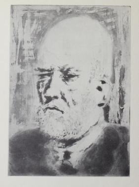 Portarit de Vollard - Pablo Picasso