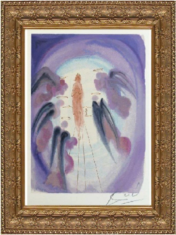 The Joy of the Blessed - Salvador Dali