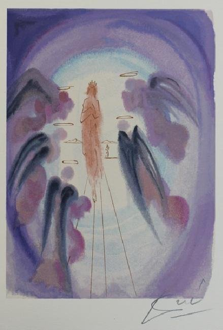 The Joy of the Blessed - Salvador Dali - 3