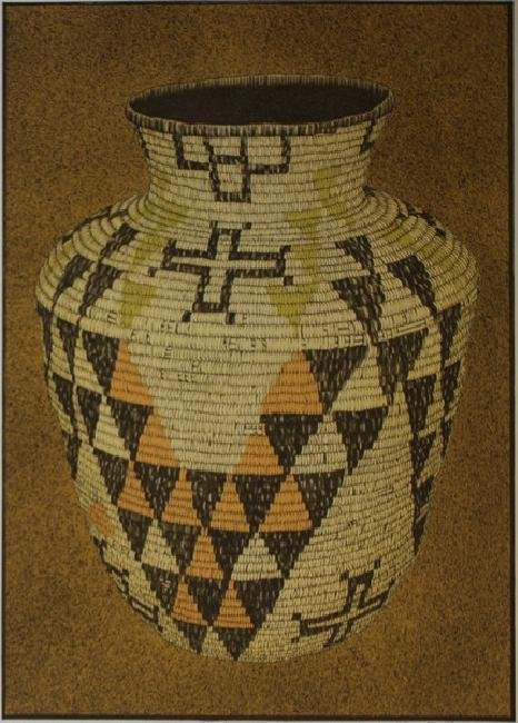 Apache Basket by Lynn Elton Baber - 4