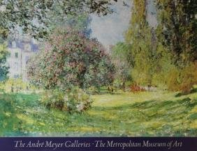 The Parc Monceau, Paris by Claude Monet