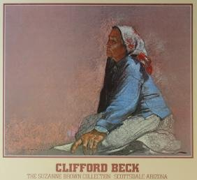 Clifford Beck - Exhibition Poster