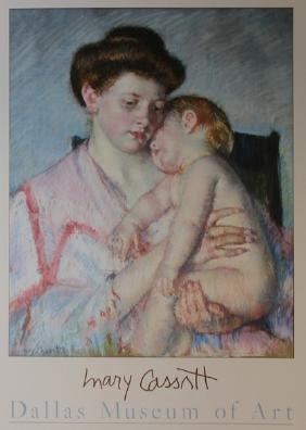 Sleeping Baby C. 1910 - Mary Cassatt