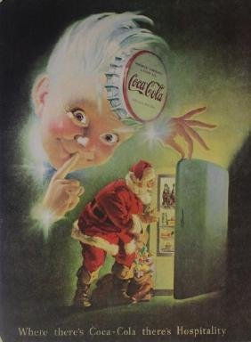 Vintage Coca Cola Advertisement Poster