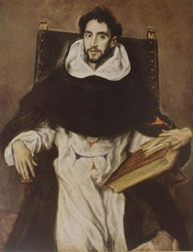 Felix Paravicino by El Greco (Color Print)