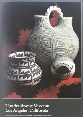Acoma Indian Pottery Poster