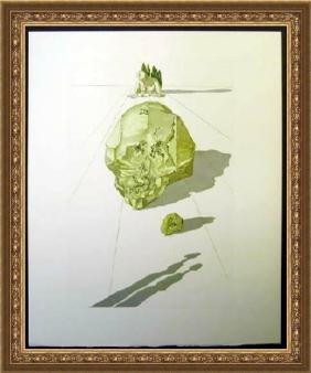 Hand Signed Salvador Dali Woodblock - Ugolino and