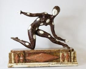 Leotard - Sculpture after D.H. Chiparus