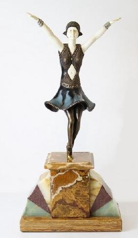 Art Deco Sculpture After D.H. Chiparus