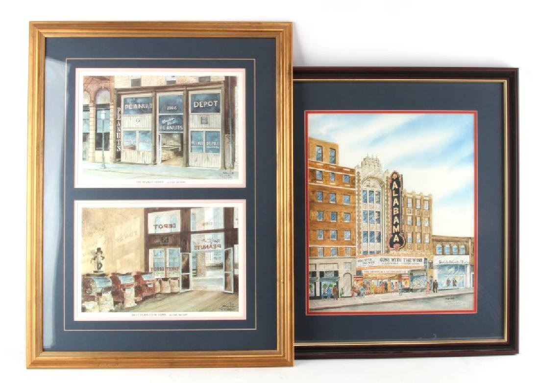 BIRMINGHAM FRAMED PRINTS OUTSIDER ART CARL SALTER