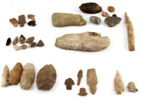 TENNESSEE FLAKED-STONE PROJECTILES & ARTIFACTS