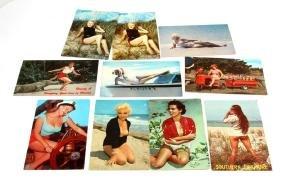 VINTAGE 50S & 60S FLORIDA MILD EROTICA POST CARDS