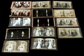 STEREOGRAPH CARDS EROTICA FIGURAL STUDIES STUDIO
