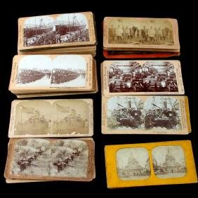 SPAMISH AMERICAN WAR STEREOGRAPH PHOTO CARDS
