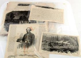 US CIVIL WAR PRINTS FROM PUBLICATIONS