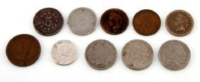 U.S. COIN COLLECTION BIG VARIETY OF COINS & DATES