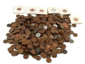 5.5 LBS OF UNSEARCHED WHEAT CENT PENNY LOT