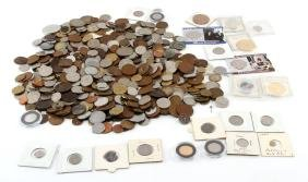 7+ LBS OF WORLD COINS TOKENS & GENERAL NUMISMATICA