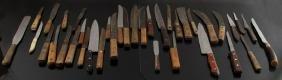 VINTAGE KITCHEN KNIVES CHEF BONING PARING UTILITY