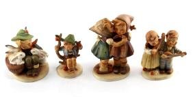 GROUPING OF 4 VINTAGE HUMMEL FIGURINES