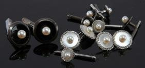 MEN'S CUFFLINKS AND STUDS SOME STERLING