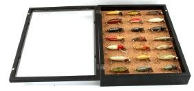 HEDDON SINKER LURE COLLECTION WITH CASE