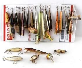 CASTING & TROLLING VINTAGE FISHING LURES