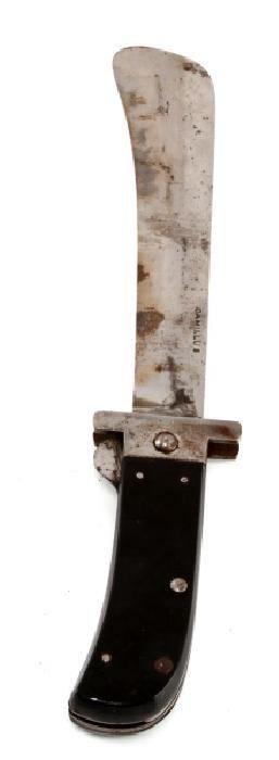 WWII CAMILLUS FOLDING MACHETE SURVIVAL KNIFE