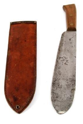 WWII USMC 1944 MARINE CORP BOLO KNIFE & SCABBARD