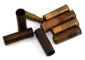 POST CIVIL WAR AMMUNITION SHOTGUN SHELLS & CASINGS