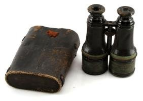 VINTAGE 1940s COLMONT FT SERIES BINOCULARS PARIS