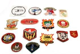 LOT OF 15 US VIETNAM ARMY SHOULDER PATCHES