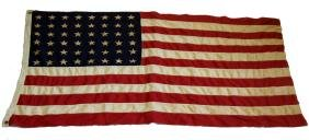 WWII PERIOD 48 STAR UNITED STATES FLAG