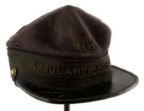 AMBULANCE SURGEON KEPI SIH NEW YORK 19TH CENTURY
