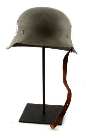 WWII GERMAN 3RD REICH M1942 STAHLHELM