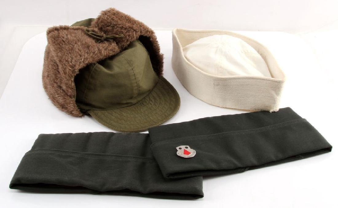 WWII AND POST WAR US MILITARY UNIFORM HEADWEAR